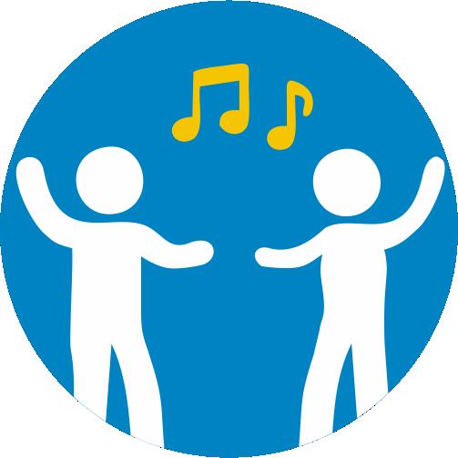 Tanzen und Musik